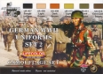 Série de peintures camouflages LifeColor CS05 GERMAN WWII UNIFORMS SET2