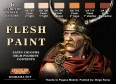 Série de peintures dioramas LifeColor CS13 FLESH PAINT SET