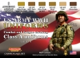 Série de peintures camouflages LifeColor CS17 WWII US ARMY UNIFORMS SET1 Combat and fatigue