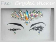 Face Crystal sticker Gem Jewelry LS1005