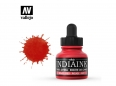 Vallejo Calligraphy India Ink 35314 Red (30ml)