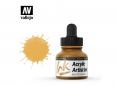 Vallejo Acrylic Artist Ink 60015 Indian Yellow (30ml)