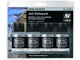 Vallejo Metal Color Set 77602 Jet Exhaust (4x32ml)