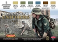 Série de peintures camouflages LifeColor CS04 GERMAN WWII UNIFORMS SET1
