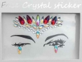 Face Crystal sticker Gem Jewelry LS1008