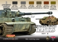 Série de peintures camouflages LifeColor CS03 GERMAN WWII TANKS SET2