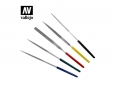 Vallejo T03004 5pc Diamond File set 100mm