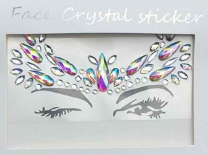 Face Crystal sticker Gem Jewelry LS1018