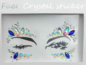 Face Crystal sticker Gem Jewelry LS1004