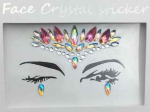Face Crystal sticker Gem Jewelry LS1012