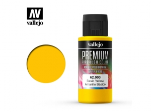 Vallejo PREMIUM Color 62003 Basic Yellow (60ml)