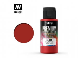 Vallejo PREMIUM Color 62005 Bright Red (60ml)