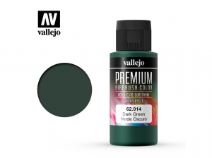 Vallejo PREMIUM Color 62014 Dark Green (60ml)