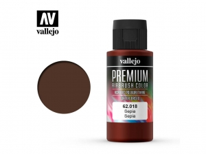Vallejo PREMIUM Color 62018 Sepia (60ml)