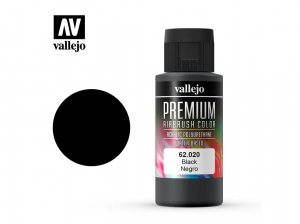 Vallejo PREMIUM Color 62020 Black (60ml)