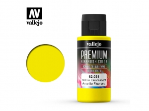 Vallejo PREMIUM Color 62031 Fluorescent Yellow (60ml)