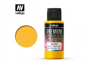 Vallejo PREMIUM Color 62032 Fluorescent Gondel Yellow (60ml)