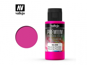 Vallejo PREMIUM Color 62036 Fluorescent Magenta (60ml)