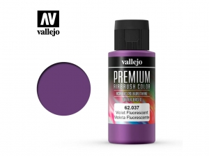 Vallejo PREMIUM Color 62037 Fluorescent Violet (60ml)