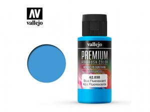 Vallejo PREMIUM Color 62038 Fluorescent Blue (60ml)