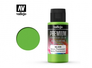 Vallejo PREMIUM Color 62039 Fluorescent Green (60ml)
