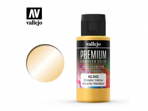 Vallejo PREMIUM Color 62042 Metallic Yellow (60ml)