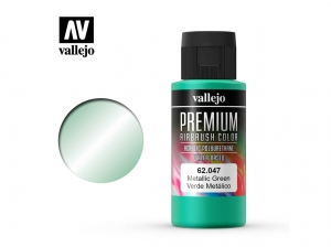 Vallejo PREMIUM Color 62047 Metallic Green (60ml)
