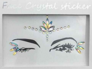 Face Crystal sticker Gem Jewelry LS1003